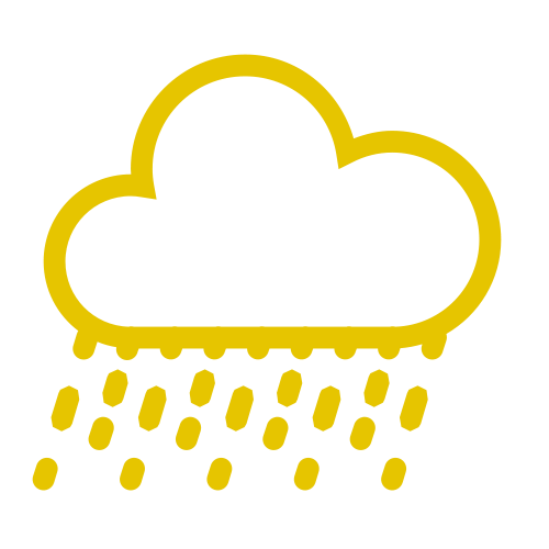 Image of the rain icon